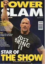 WWE MAGAZINE POWERSLAM WRESTLING FEB 2013 ISSUE 221 CM PUNK BELT CESARO POSTER
