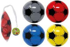 1x Pvc Football - Beach Ball Inflatable Plastic Net Sports Training Soft Soccer