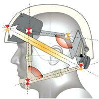Suspension Retention System H-Nape Strap Helmet Chin Strap For MICH Helmet