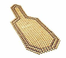 Wooden Beaded Car Chair Seat Cushion Massage Massaging Cover Natural For Honda