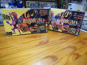 2 SEALED BOXES DC BLOODLINES TRADING CARDS, 1993