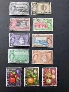 Montserrat stamps. Queen Elizabeth