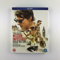 Mission Impossible: Rogue Nation (Blu-ray, 2015) s *New & Sealed*