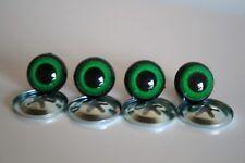 Ojos de seguridad verdes 16 mm para osos de peluche amigurumi juguetes animales