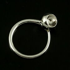 Georg Jensen 18k White Gold Gold Ring with 0.07ct diamond - Cave