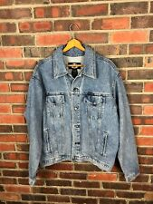 NWT Vintage Harley Davidson Jean Jacket mens l 90s early 2000s vtg motorcycle