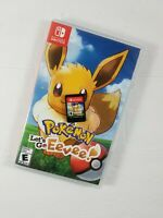 Pokemon: Lets Go Eevee! (Nintendo Switch, 2018) Game Cartridge and Case