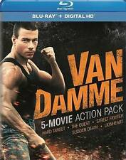 Van Damme 5-Movie Action Pack (Blu-ray, 5-Disc Set, Includes Digital Code)