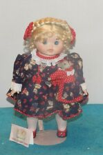 Goebel Dolly Single Doll Happy Single Music Box Porcelain. 14 Inches