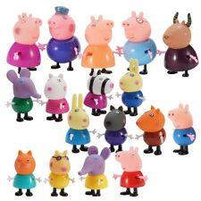 Peppa Pig Family&Friends Emily Rebecca Suzy Action Figures Toys 25 Pcs Kids AU