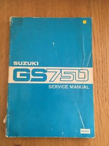 Gs Suzuki Motorcycle Repair Manuals Literature For Sale Ebay