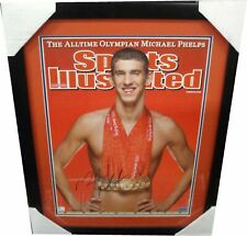 Michael Phelps Hand Signed autographed 16x20 Photo Olympic Champion 8 Gold Medal