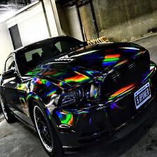 [21,00€/ m²] Klebe Folie Carbon Chrom Gebürstet Hologramm Chamäleon Auto Glanz