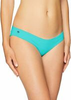 Maaji Womens Swimwear Aqua Blue Size Medium M Reversible Bikini Bottom $56 558
