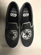 Sperry STAR WARS Men's SlipOn Empire Strikes Back boat shoe Sneaker, Size 10 new