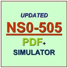 NetApp Implementation Engineer SAN E-Series Test NS0-505 Exam QA PDF+Simulator