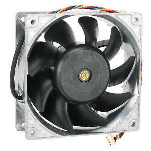 NEW 120mm 12V 4 Pin Connector 5800RPM High Speed Computer Case Cooling Fan Metal