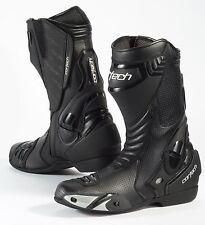 Cortech Latigo Air Road Race Motorcycle Boots Black Size US 7/EU 40