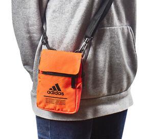 adidas CL Organizer Small Waist Bag Pack Cross Body Casual Bag Orange FM6875
