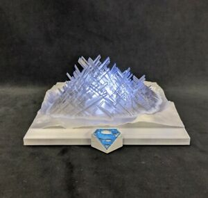 Smallville - Fortress of solitude illuminated 75mm high 3D printed model