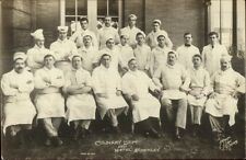 Pittsburgh PA Culinary Dept Kitchen Staff Hotel Schenley c1910 RPPC dcn