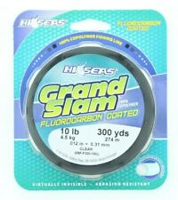 Hi Seas Fluorocarbon Coated Copolymer Fishing Line 10 lb 300 yds Clear