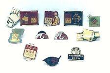 McDonald's lapel pins lot Olympics Monopoly Crew
