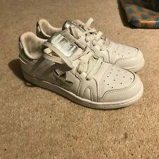 WOMENS ADIDAS MISSY ELLIOT RESPECT WHITE TRAINERS UK 4 LACE UP SHOES