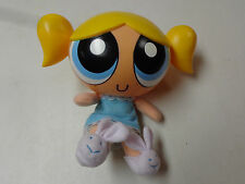 Powerpuff Girls 10 Inch Talking Bubbles Doll W Bunny Slippers Euc
