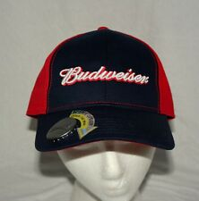 Vintage Bud Budweiser Beer Logo Baseball Cap Hat New OSFM Bottle Opener 2014