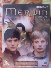 Merlin Vol.1 (DVD, 2008, 3-Disc Set) The Legend Begins....Episodes 1-6 Brand New