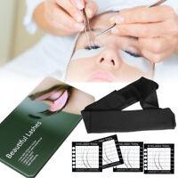 Professional Black Magnetic Lash Pad Eyelash Extension Tools Headband Holder SET