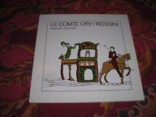 ROSSINI LE COMTE ORY  OPERA DE LYON  87-88 LIVRET PROGRAMME