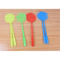 1x/Set Practical Plastic Pest Control Mosquito Bug Hand Pattern Fly Swatter M DP