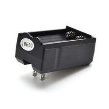 Dual Battery Charger 800mA Usa Plug For 3.7v Rechargeable 18650 Li-ion Battery