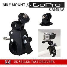 -HEAVY DUTY- Bicycle Bike Motorbike Bar Mount Clamp for GoPro Camera Hero 2 3+ 4