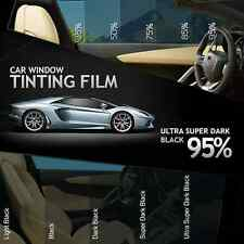 ULTRA SUPER DARK BLACK 95% CAR HOME OFFICE WINDOW TINT 3M x 50CM FILM TINTING