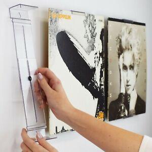 AlbumMount™ Record Album Frame - Adjustable Wall Mount or Shelf Stand Display