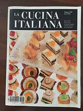 R23> LA CUCINA ITALIANA  -  GASTRONOMIA CON LA CUCINA IN REDAZIONE  - N 5 1997