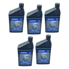 Set of 5 Automatic Transmission Fluids AISIN for Audi Ford Mini Toyota VW Volvo