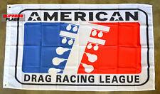 American Drag Racing League Flag Banner 3x5 ft ADRL USA Car
