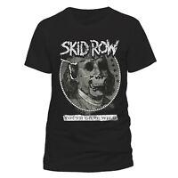 Official Skid Row T-Shirt Youth Gone Wild Mens Black S M L XL XXL Heavy Metal