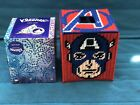 Handmade Needlepoint Plastic Canvas Tissue Box Cover - Captain America