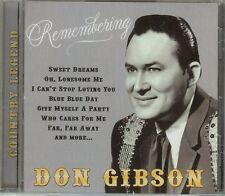 Don Gibson - REMEMBERING - CD - NEW