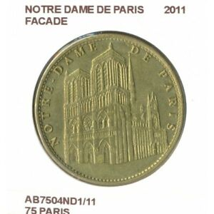 75 PARIS NOTRE DAME DE PARIS FACADE 2011 SUP-