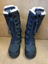 Pajar Greenland Waterproof Faux Shearing Lined Boot Blue Size US 7-7.5 Euro 38
