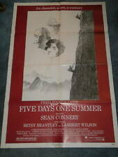 FIVE DAYS ONE SUMMER (1982) SEAN CONNERY ORIG  POSTER