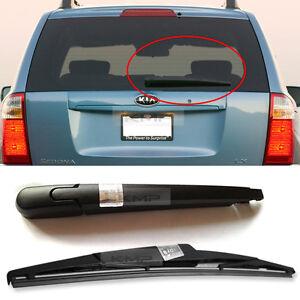 OEM Genuine Parts Rear Window Wiper Arm Blade 2Pcs for KIA 2006-2014 Sedona