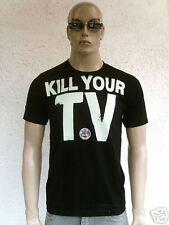 Kill Your TV LCD rythm skater DJ energy t-shirt S-M
