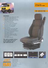 Isri 6820/347 Pro Prospekt Sitz f. MAN M / F 2000 1 Blatt, brochure truck-seat